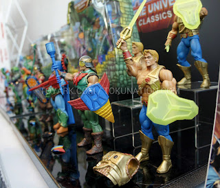 Mattel Matty Collector 2013 Toy Fair Display - Masters of the Universe MOTU Classics
