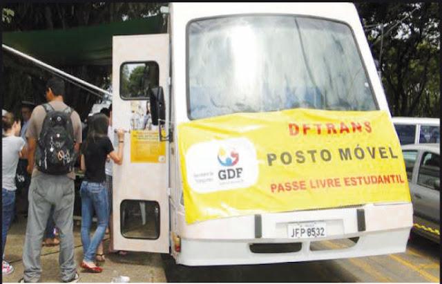 Atendimento DFTrans em São Sebastião