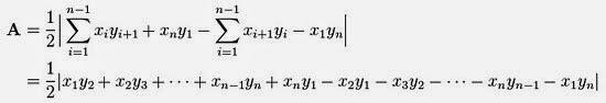 Shoelace Formula