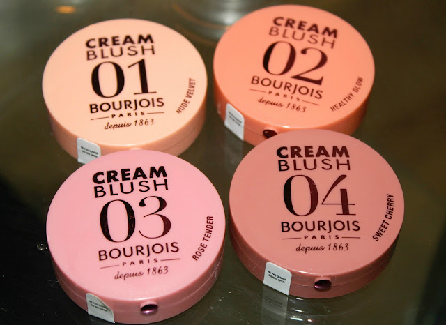 Bourjois Cream Blushes, Cream Blush, UK Beauty Blog, Bourjois Cream Blush Review, Bourjois Makeup