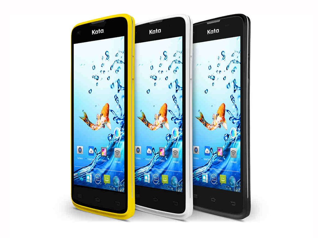 Kata F1s: 4.5-inch, Quad-core, Android KitKat Priced at Php 4,499.00