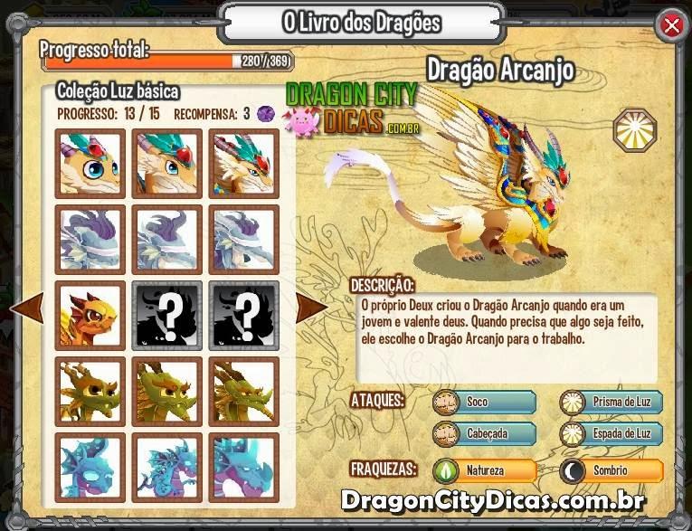 Livro dos Dragões - Dragon City