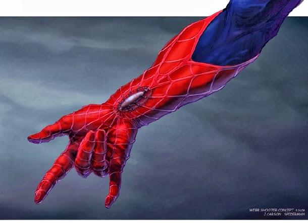 Sam Raimi´s Spider-man Concept Arts