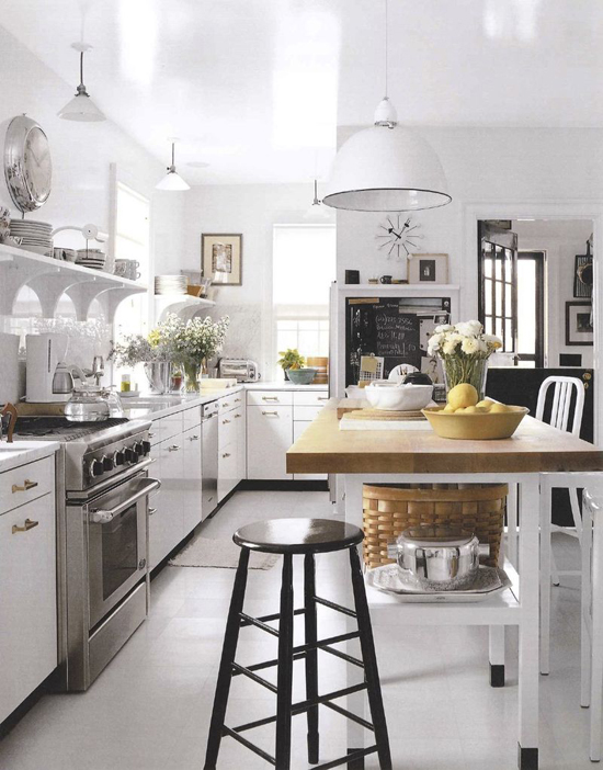 Cocinas americanas muy especiales decorar tu casa es for Cocinas americanas blancas