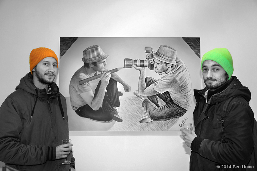 Ben Heine Exhibition at DCA Gallery - Belgium - 2014