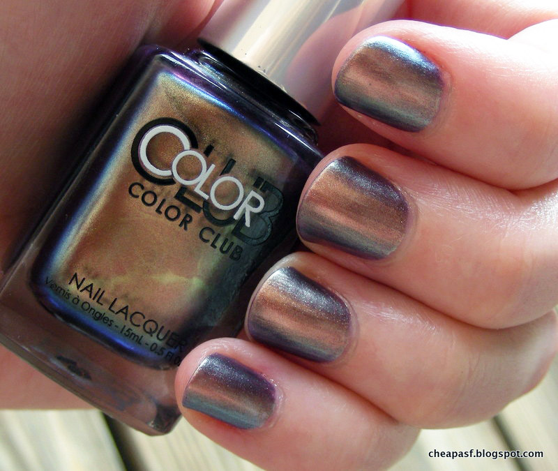 brutally honest beauty: And now I can die: Color Club Oil Slick ...