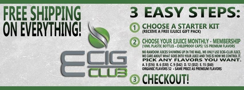 Ecog Club e-juice subscription service