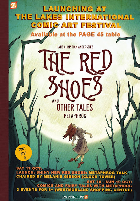 Red Shoes Launch at The Lakes Festival