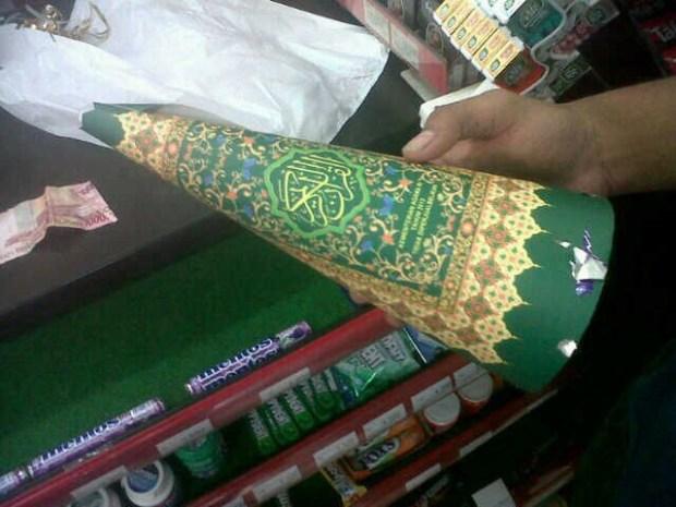 Terompet Cover Al-Qur'an Tersebar Di Jawa Tengah Menjelang Tahun Baru 2016