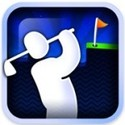 Super Stickman Golf Icon Logo