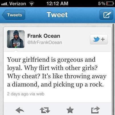 Sayings Of Frank Ocean