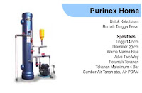 filter air hydro purinex home