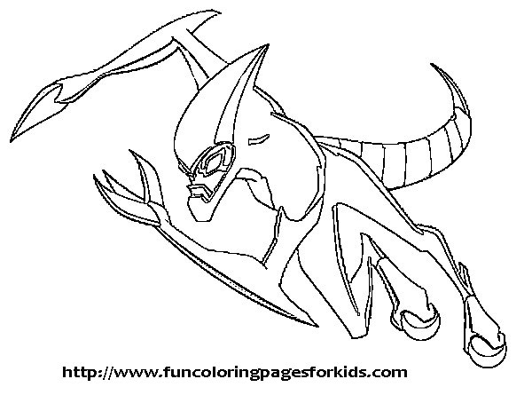 Ben 10 Coloring Pages Best Pages