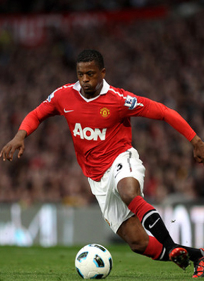 Patrice Evra Manchester United Pictures 2011-2012