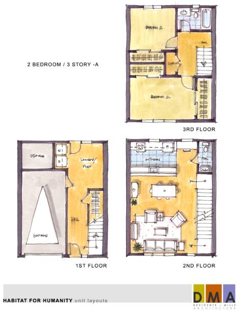 Habitat for humanity santa barbara blog blueprints to 12 for 3 unit house plans