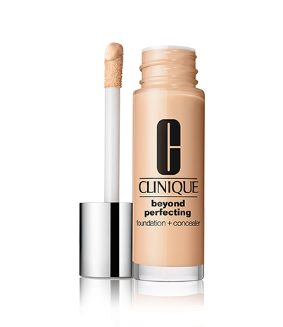 review:  clinique beyond perfecting foundation + concealer.