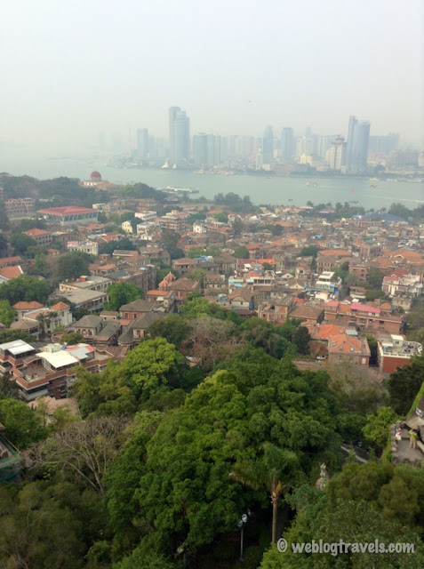 view of xiamen from gulangyu island 3