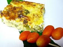Broccoli cheese tofu Pie Recipe --- מתכון פשטידת ברוקולי גבינה וטופו