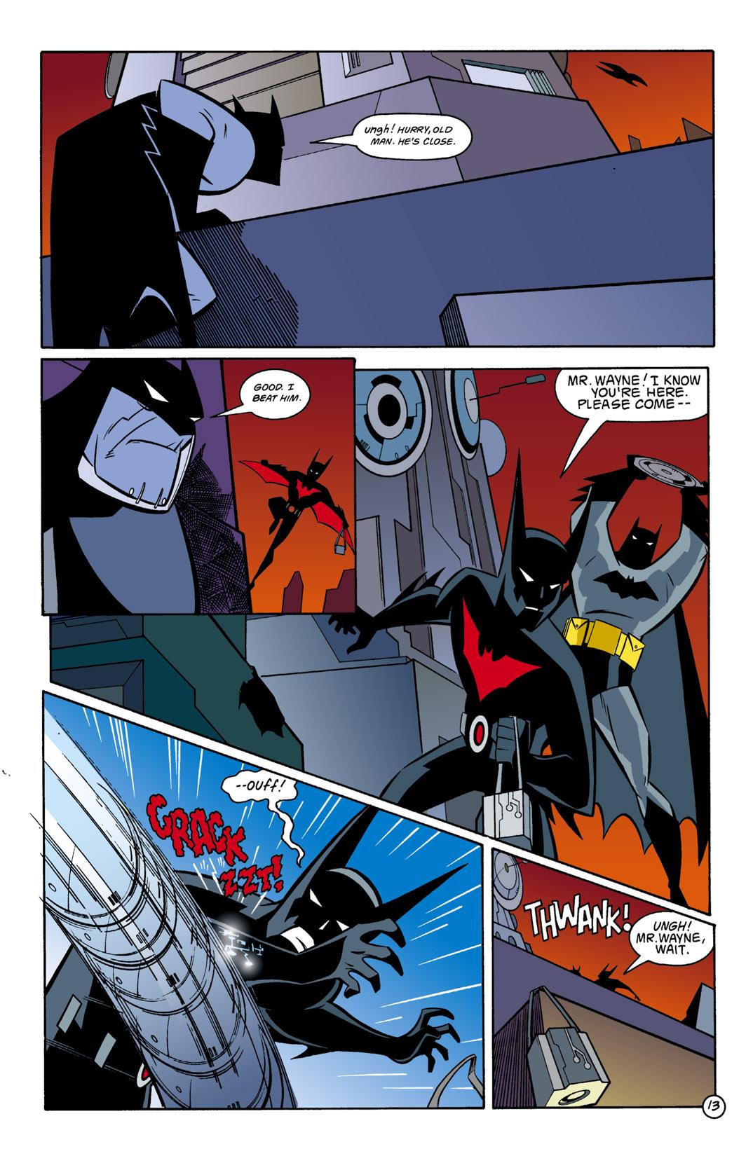 Batman Beyond [II] Issue #1 #1 - English 14