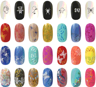 toko kuku palsu online - kuku palsu murah - 3D nail art - kuku hias - jual kuku palsu - jual 3D nail art - jual fake nails - party fake nails