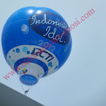 Balon Oval Indonesian Idol RCTI
