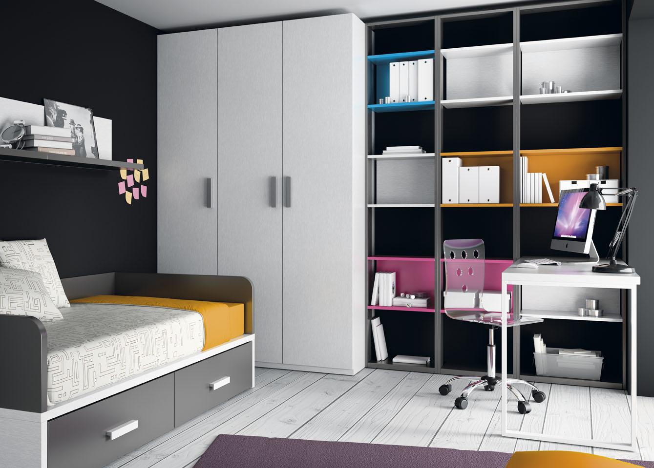 Muebles Ros Amplia combinación de colores en muebles