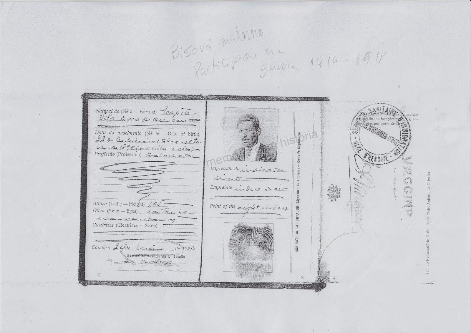 Memria com histria janeiro 2014 diploma de honra corpo expedicionrio portugus fandeluxe Choice Image