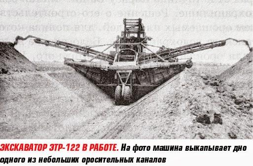 Экскаватор ЭТР-122