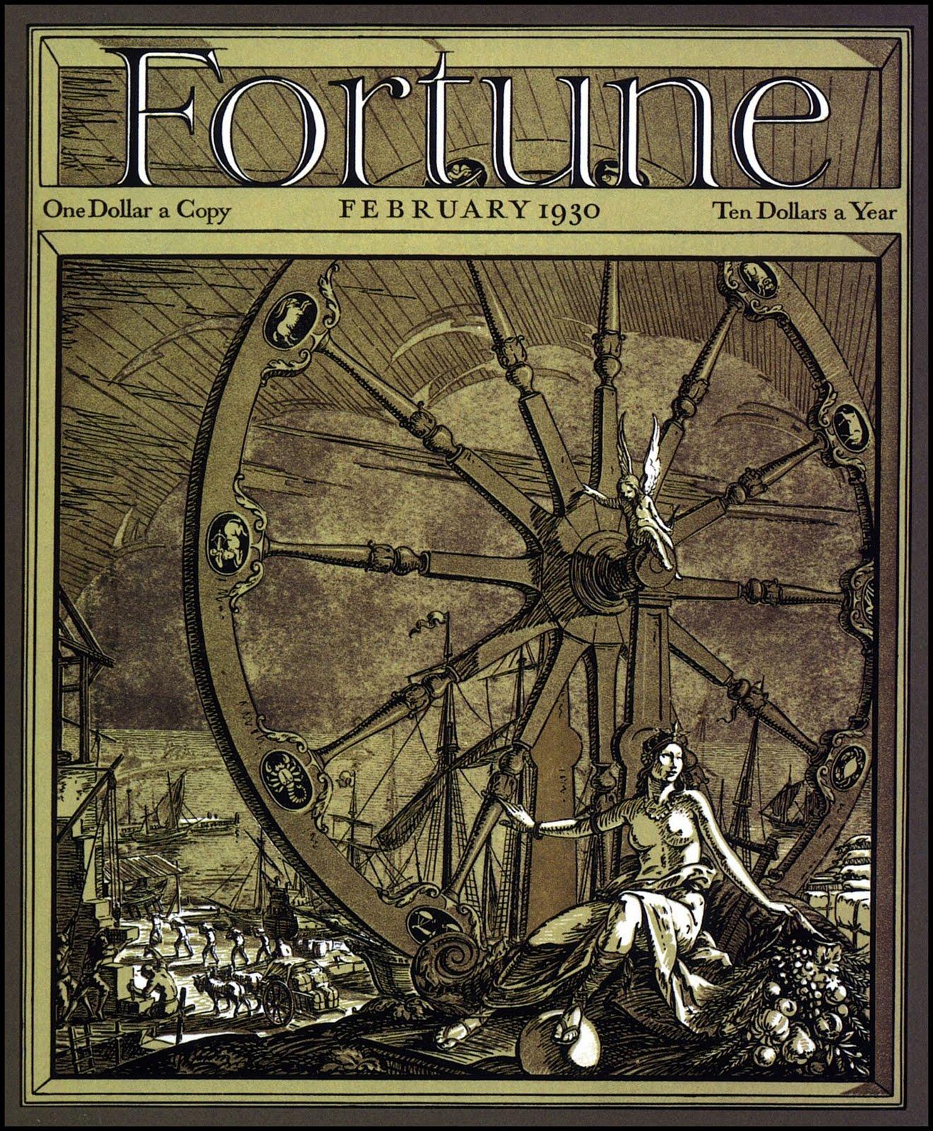 Cleland Fortune Magazine February 1930