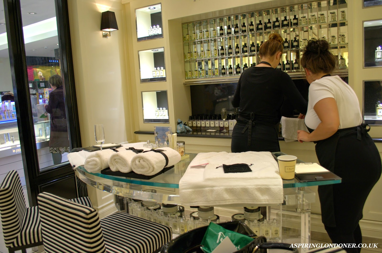 Newcastle Fenwick Beauty Week Jo Malone Hand Arm Massage - Aspiring Londoner