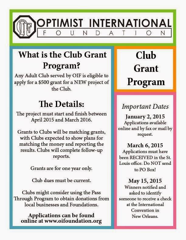 pnw district optimist club