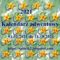Kalendarz adwentowy 2021 u Splocika