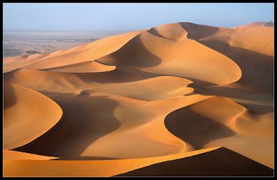 Hermoso paisaje del desierto