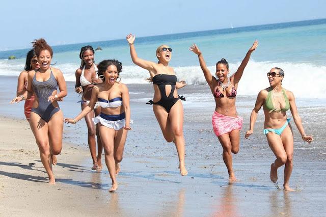 Christina Milian – Bikini Candids in Malibu