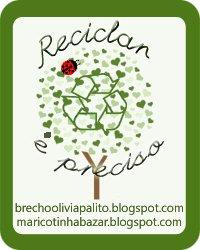 Reciclar é preciso, O selo!!!