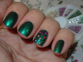 manicura arbol de navidad