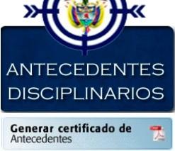 descargar certificado de antecedentes procuraduria