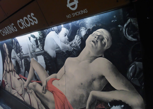Image of mural on Charing Cross wall