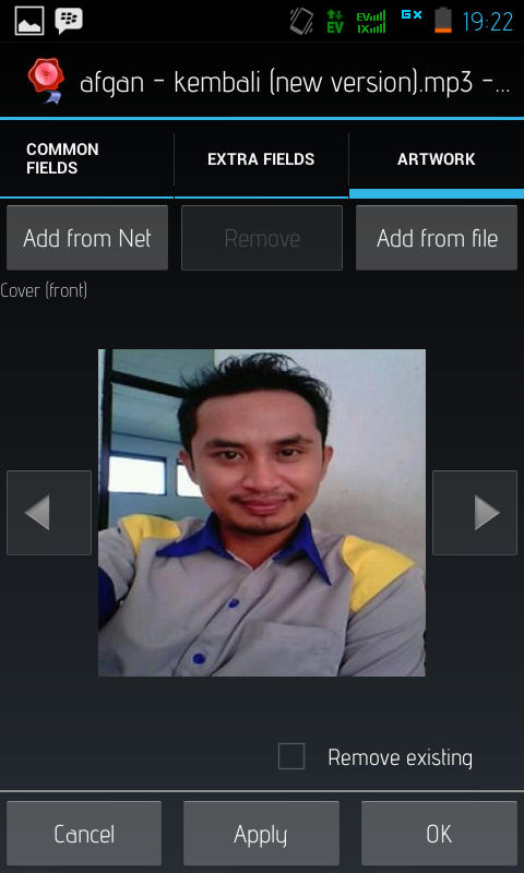 Cara Edit Cover Album MP3 di Android