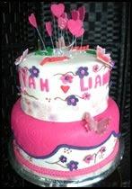 Wedding cake~fondant 1
