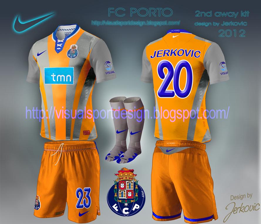Nike Football Shirt Design fc Porto Nike Football Shirt