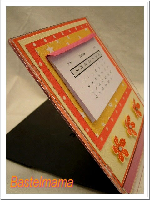 Mini-Kalender in der CD-Hülle