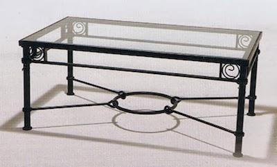 Decorole mobiliario mesa camilla - Mesa de forja ...