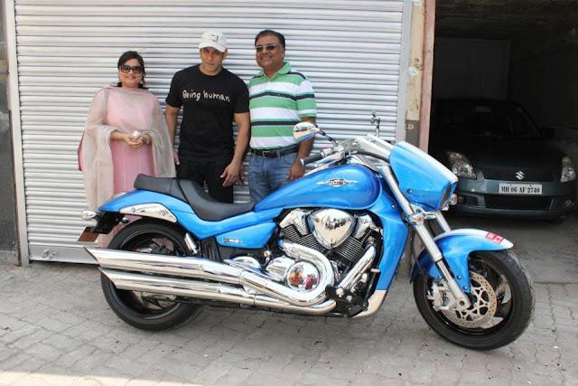 Salman-Khan-New-Suzuki-Intruder-M1800RZ-