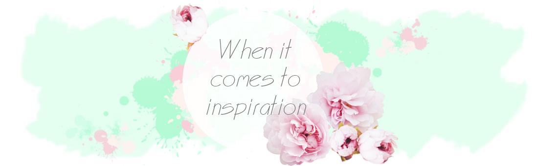 Когда приходит вдохновение...