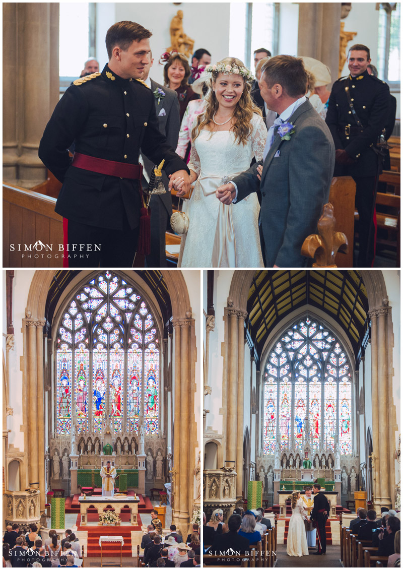 St Georges Church Taunton wedding