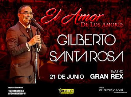 Gilberto Santa Rosa -21 de junio de 2018