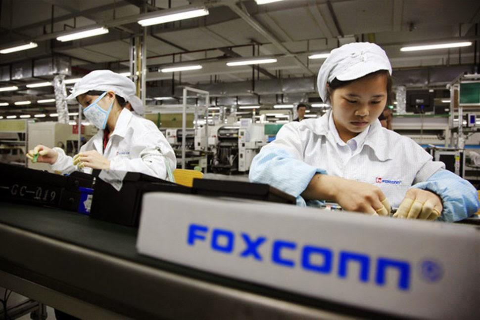 Foxconn embauche