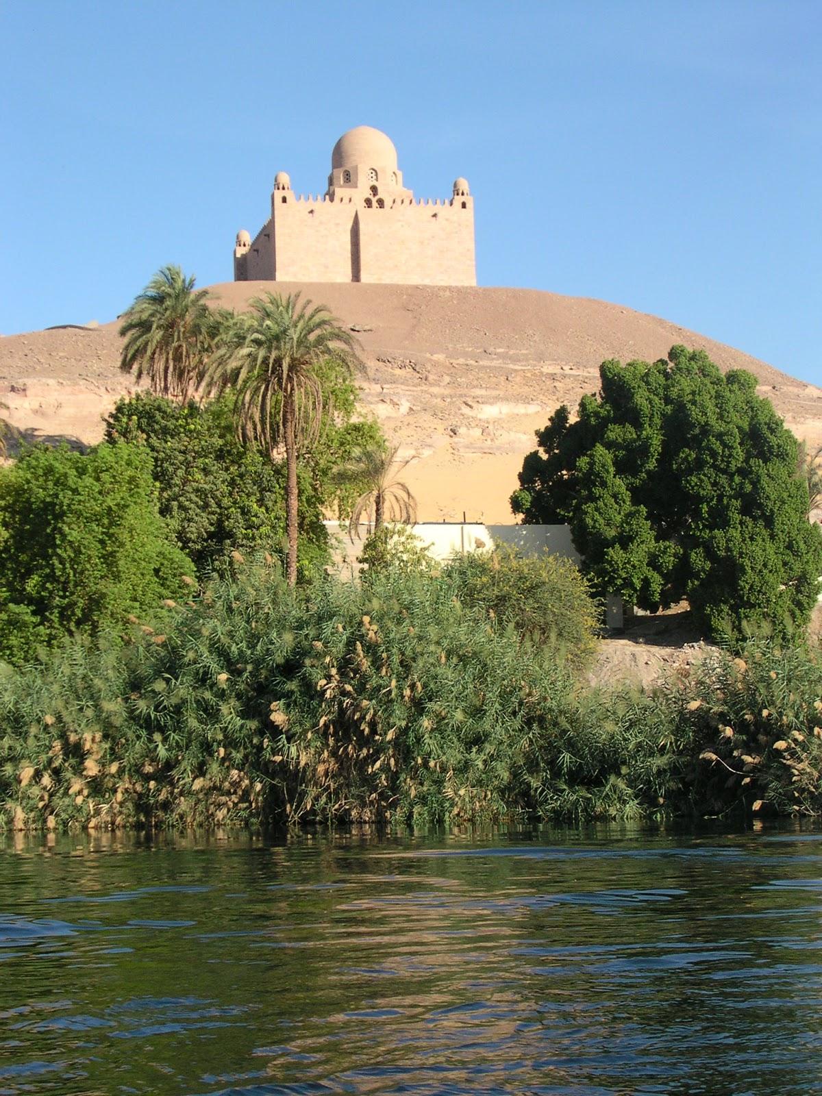L'Aga Khan III et son mausolée à Assouan - Haute Egypte