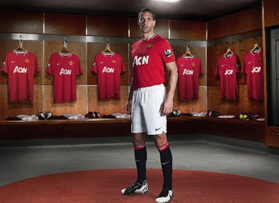 Manchester United New Jersey Rio Ferdinand New Jersey 2011-2012